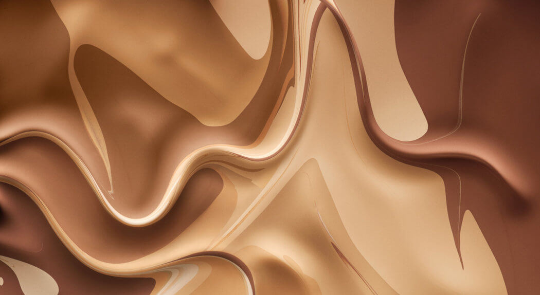 A swirling, rippling pool of Artistry foundation.